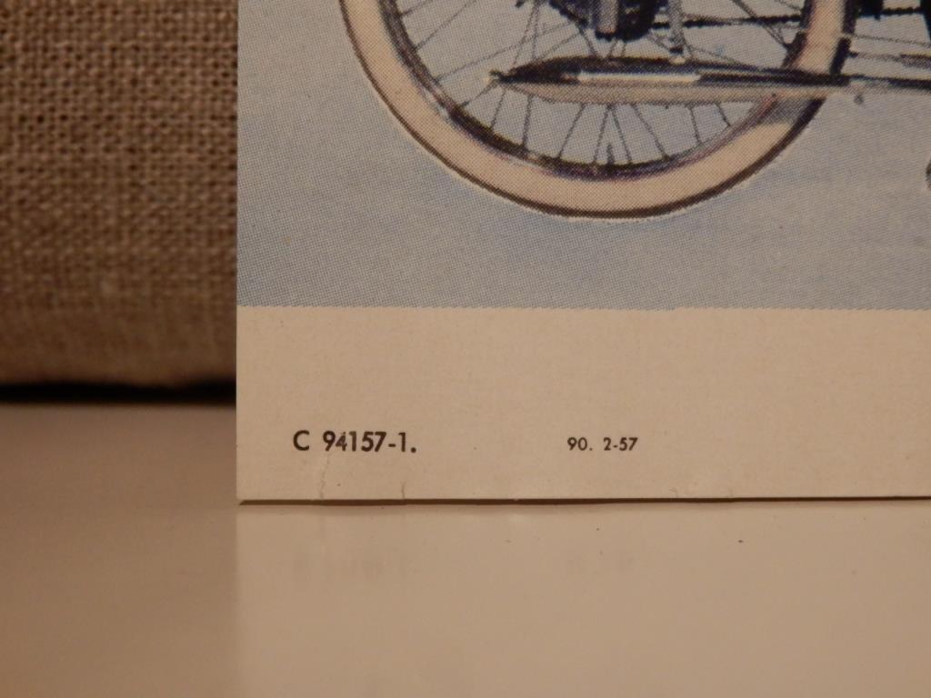 Husqvarna roulette lyx 1957