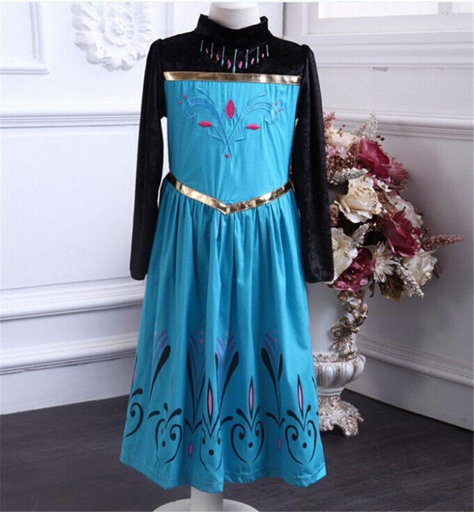 drottning elsa klänning