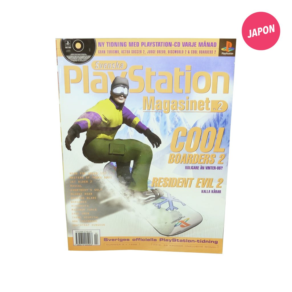 Svenska Playstation magasinet Nr 2, 1998