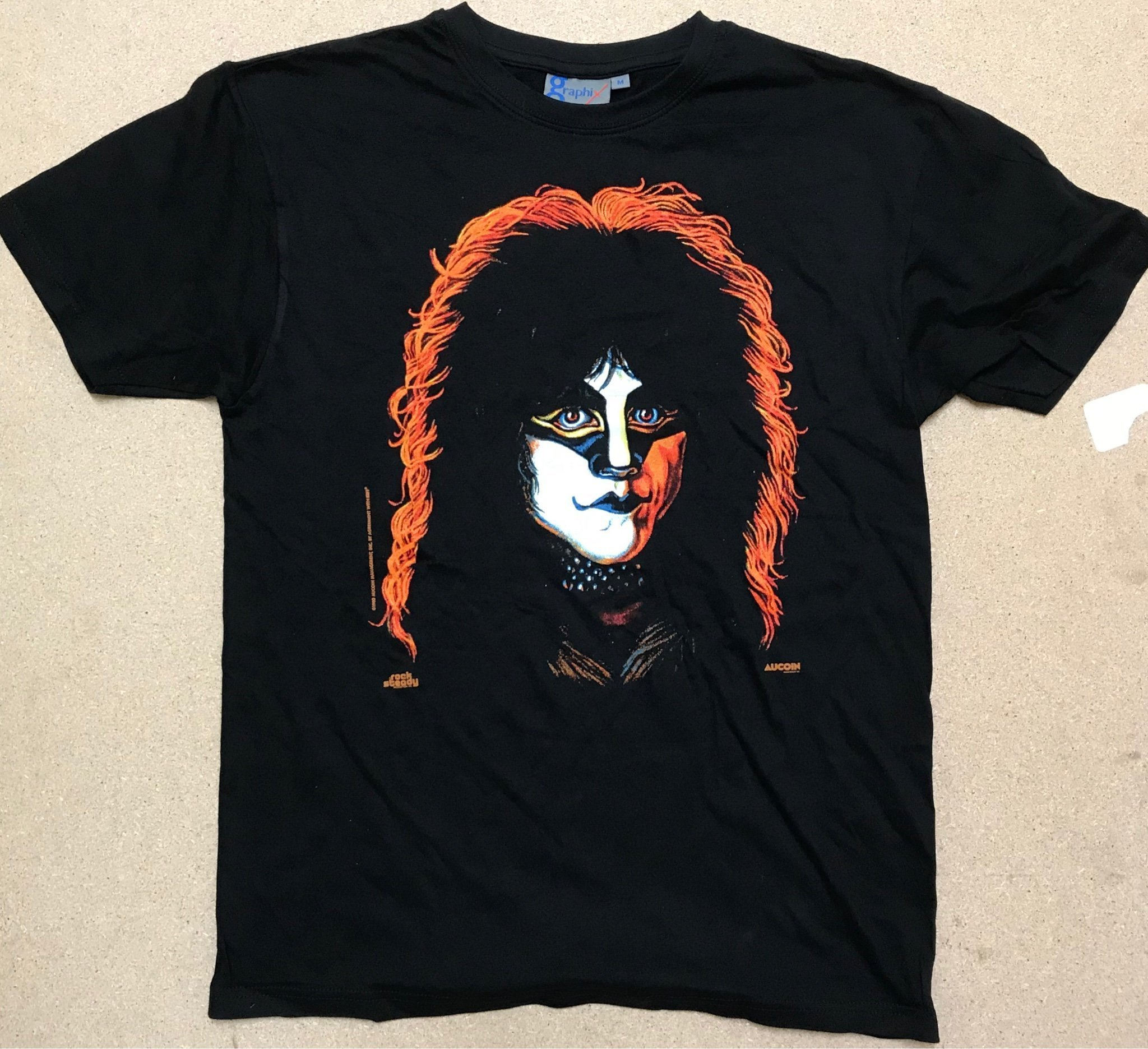 "Kiss / Eric Carr  "" Solo 80 "" T-Shirt Small"