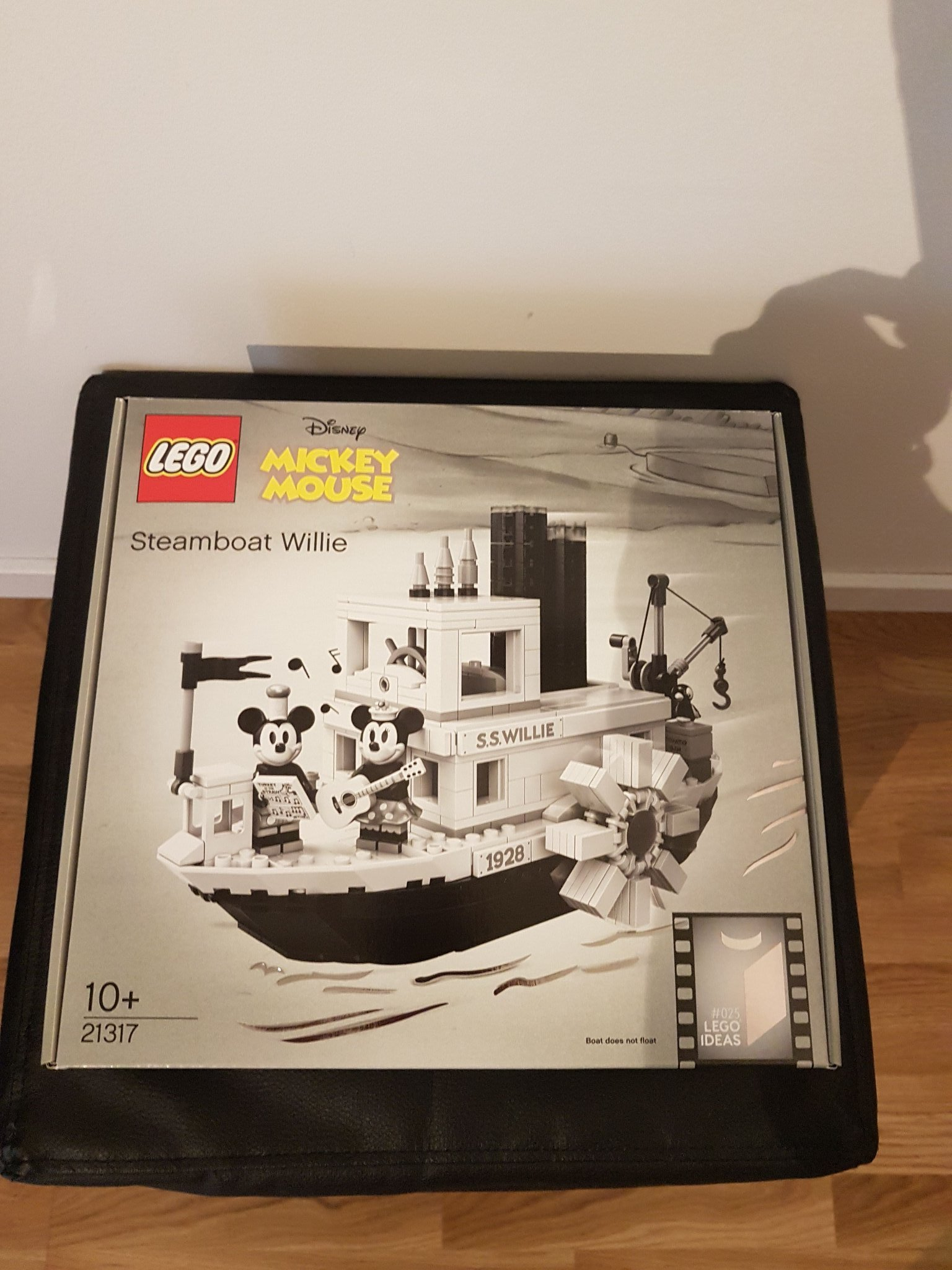 Lego Ideas 21317 - Steamboat Willie (Musse Pigg). Ny!