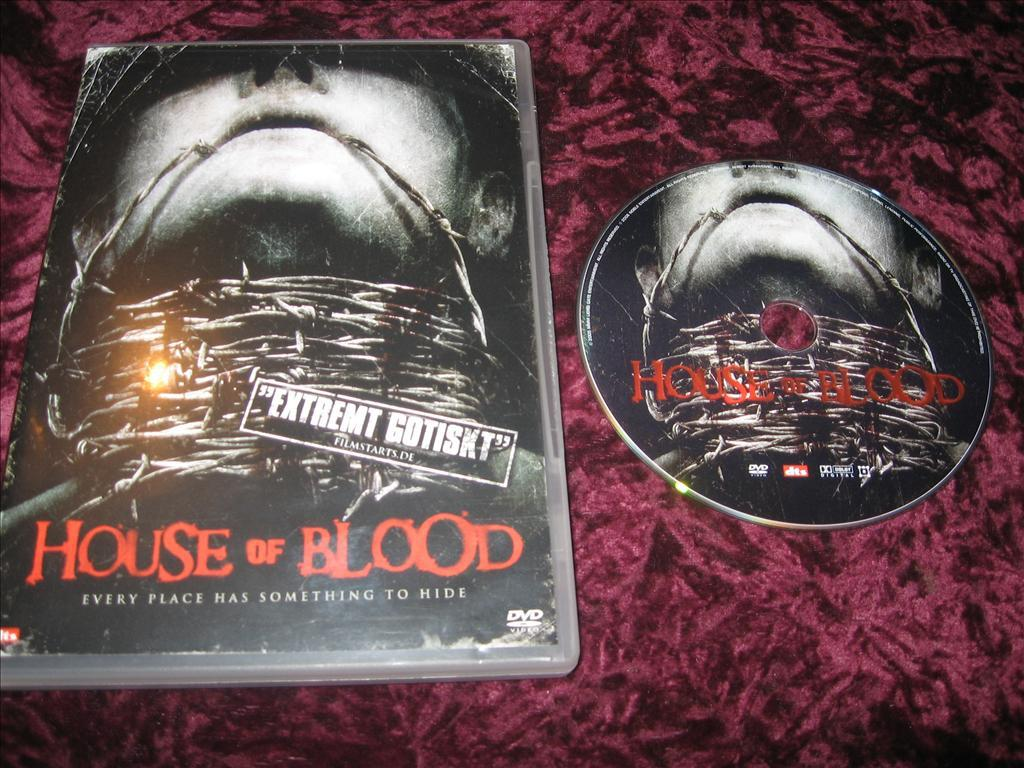 HOUSE OF BLOOD (DARYL JACKSON,CHRISTOPHER KRIESA)DVD REG2