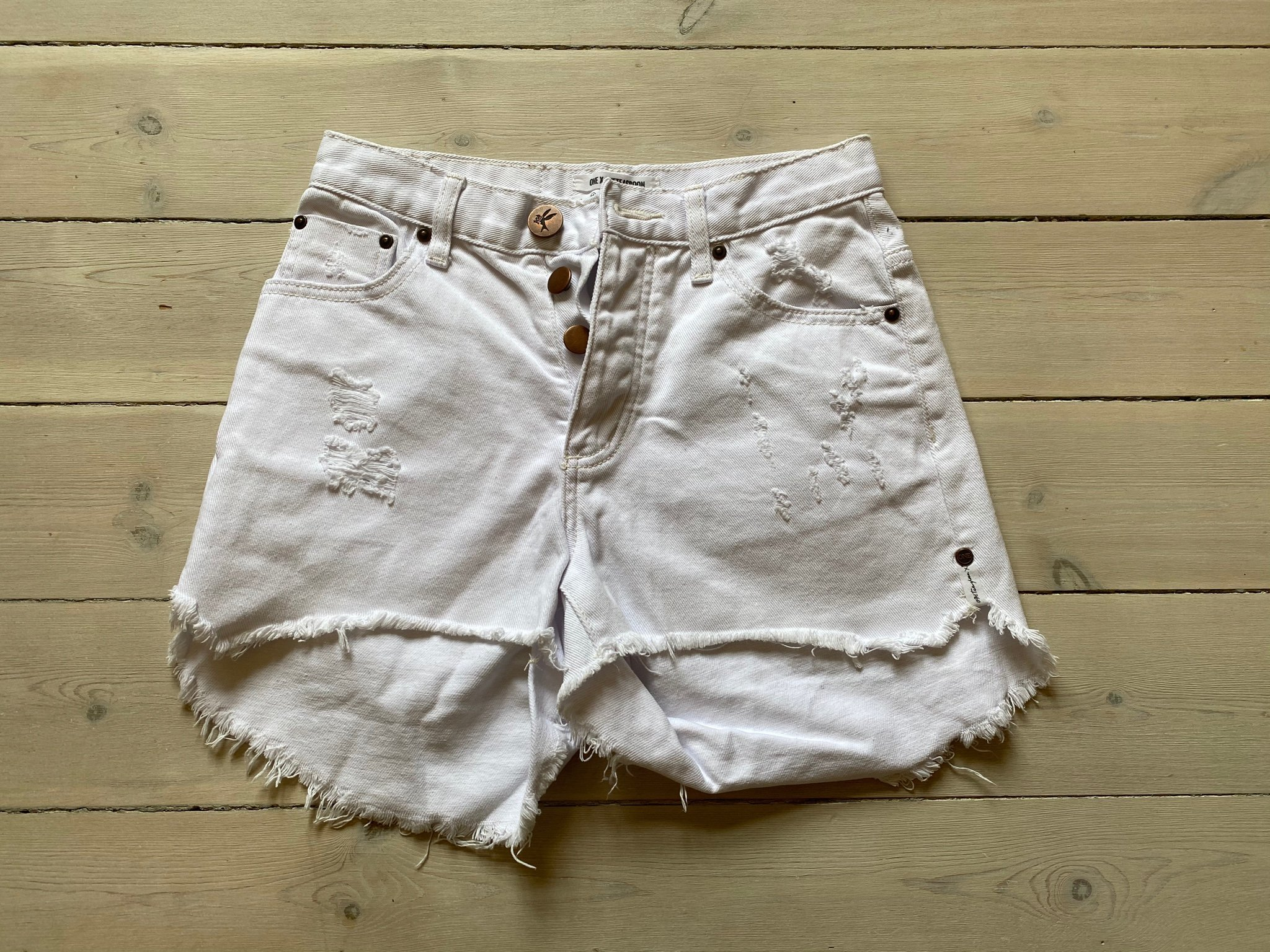 One Teaspoon Bonita Denim Shorts