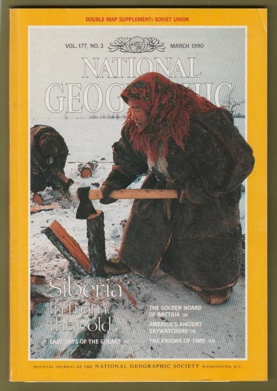 National Geographic, March 1990.