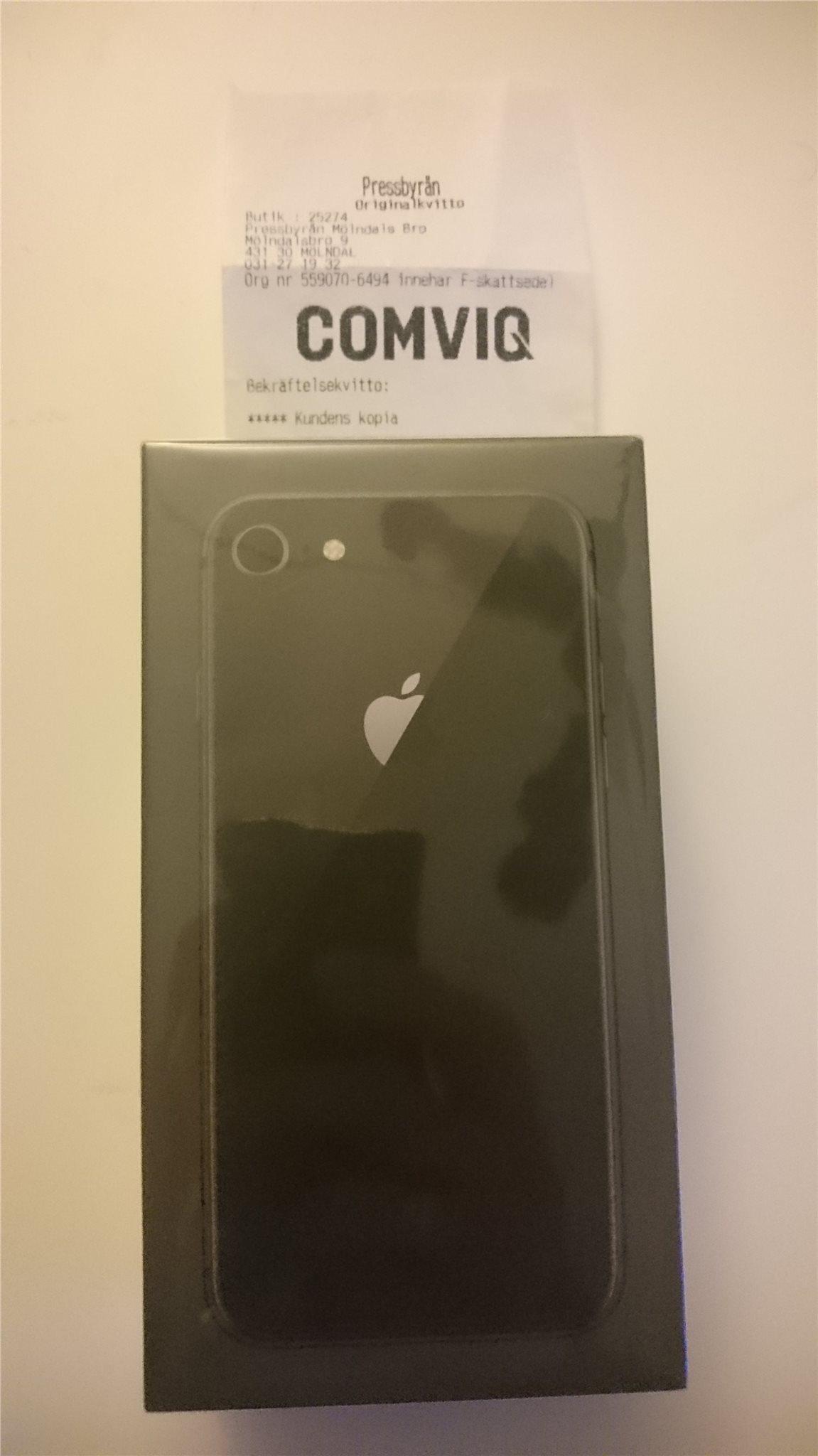 Ny iPhone 8 64GB Svart 494b1f28ff512