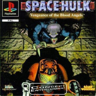 SPACE HULK - VENGEANCE OF THE BLOOD ANGELS (komplett) till Sony Playstation, PS1