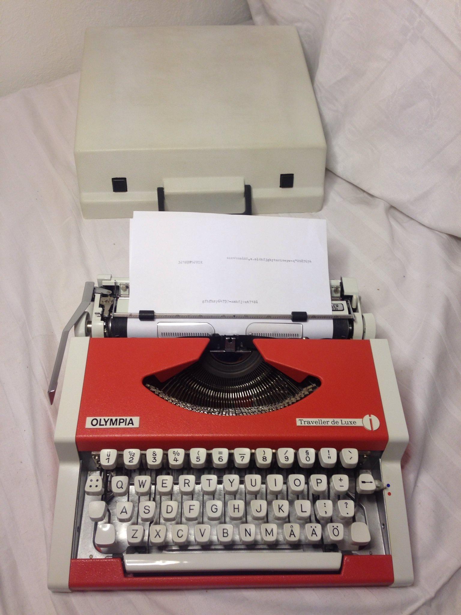 färgband skrivmaskin facit