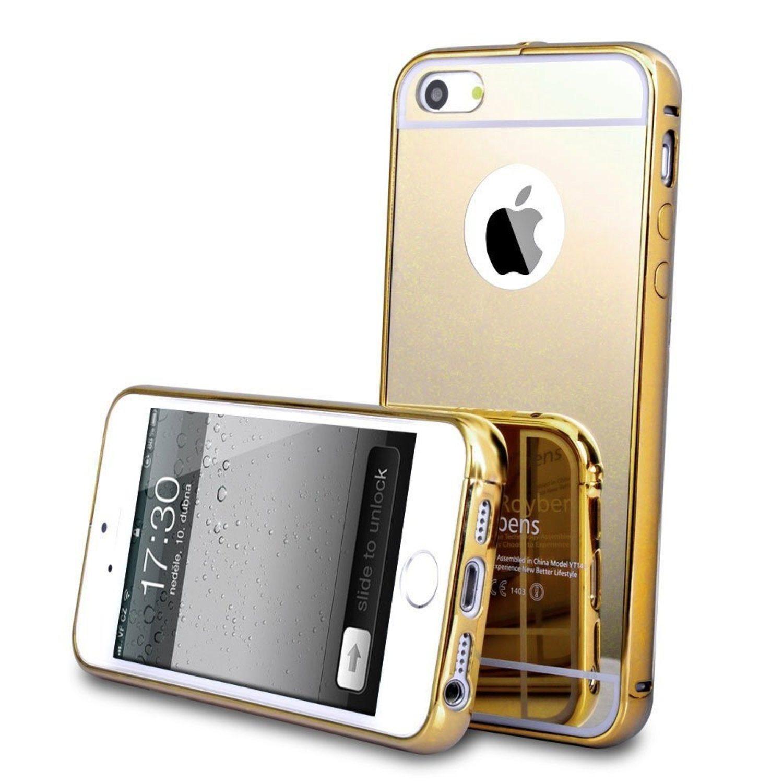 Mirror - Gold - iPhone 7 skal (324806473) ᐈ Macskal på Tradera 74889bba9fdd2