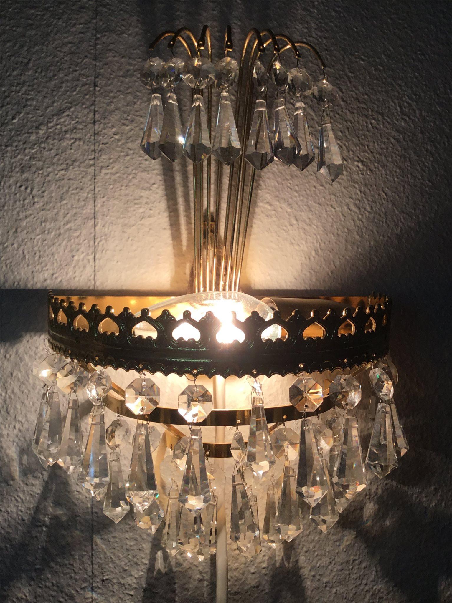 Vintage / Lampett / Kristall / Prismor.
