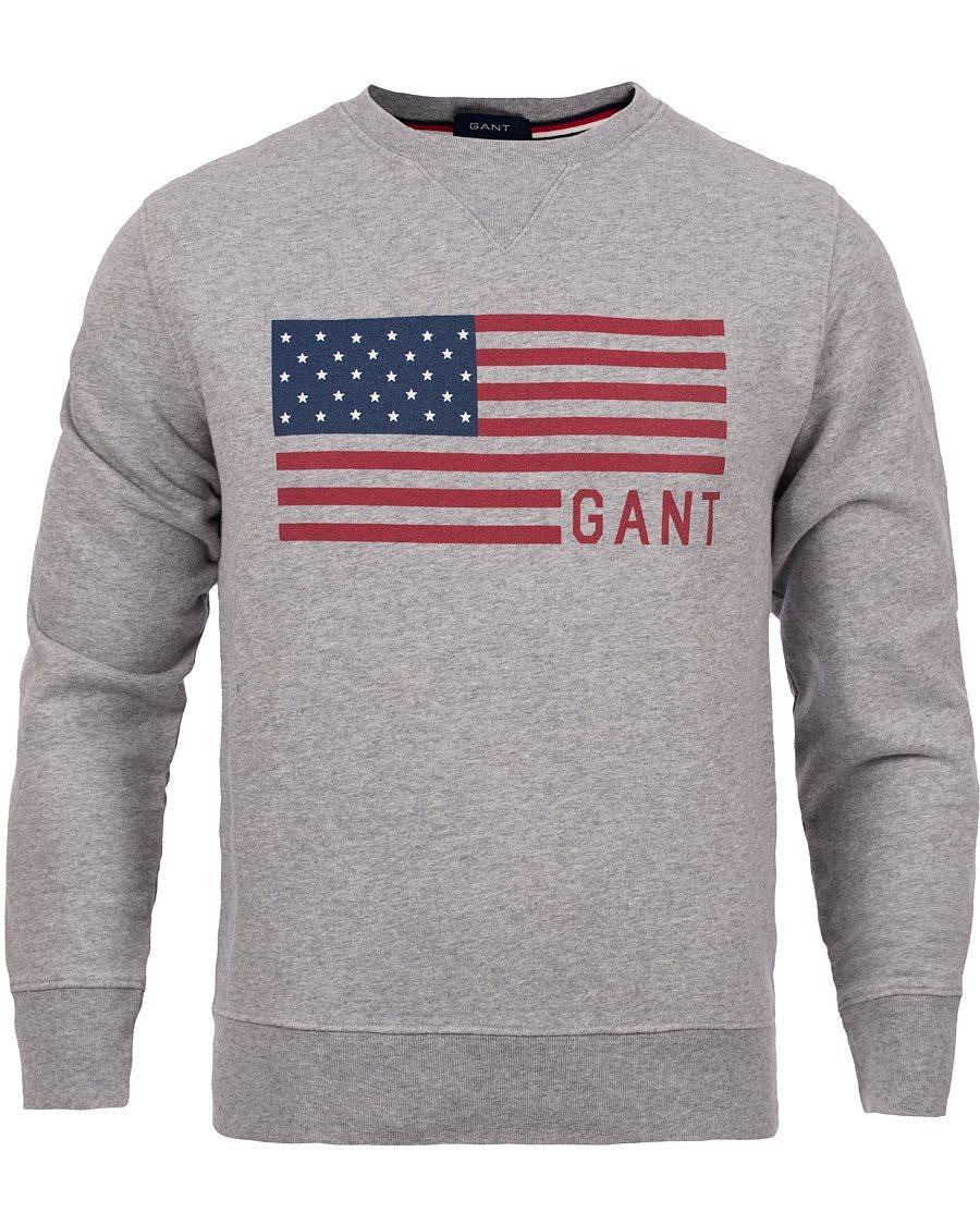 865fb3d6d51 331271877 Tröja Ny Usa Gant Grå Sweatshirt U1gxfZqg