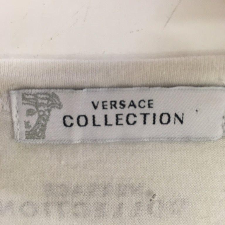 Versace Versace Versace Collection, T-shirt, Strl: XL, Vit ed4176