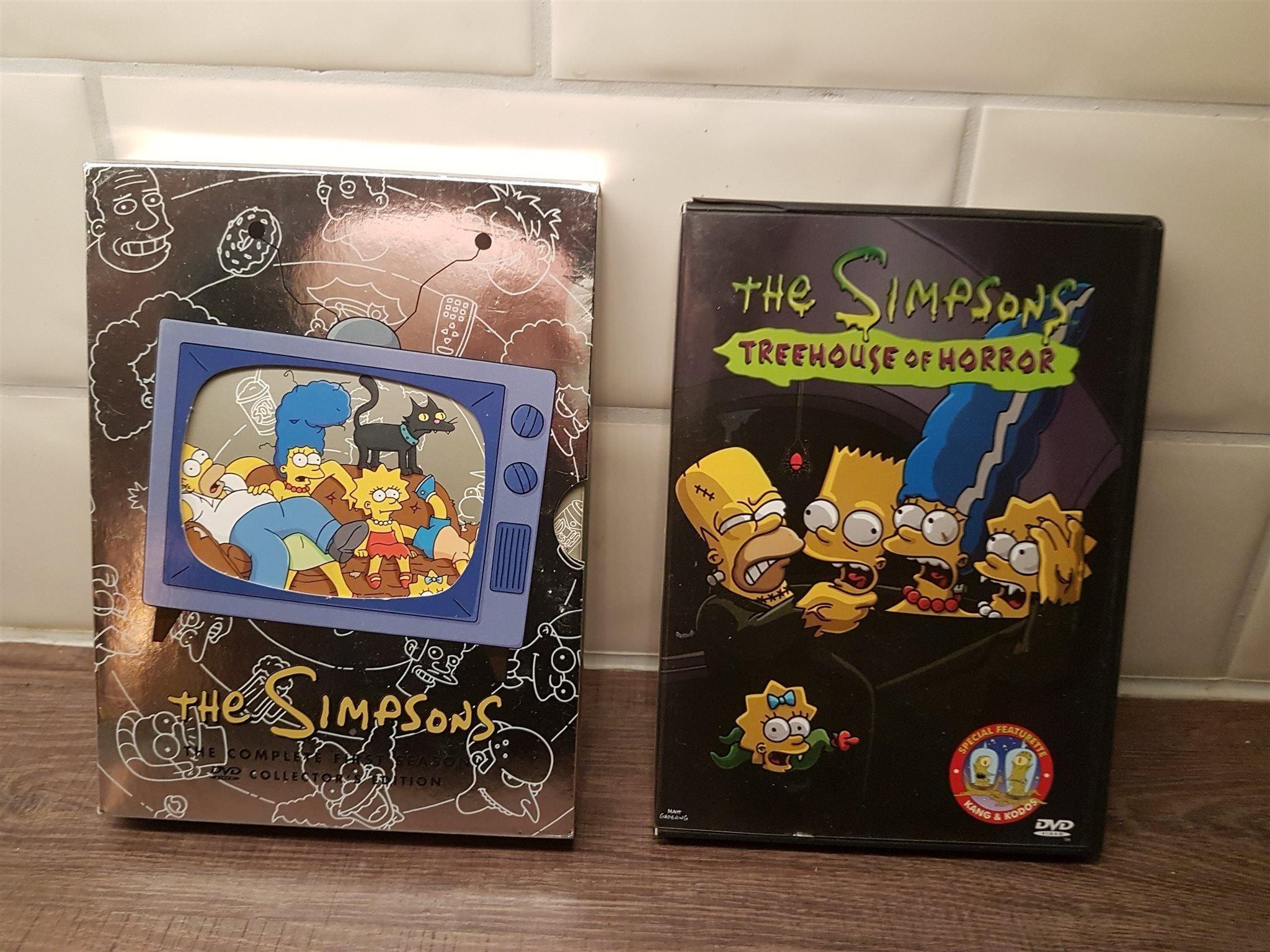 The Simpsons Complete Season One & Threehouse o   (343639402) ᐈ Köp