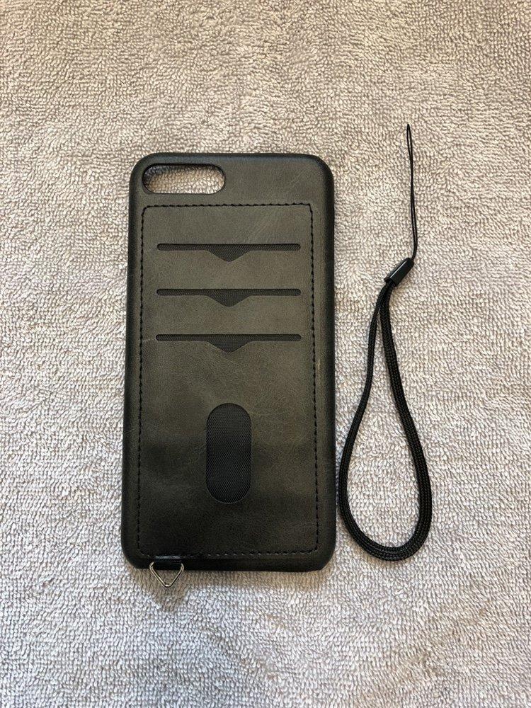 mobilskal med korthållare iphone 8 plus