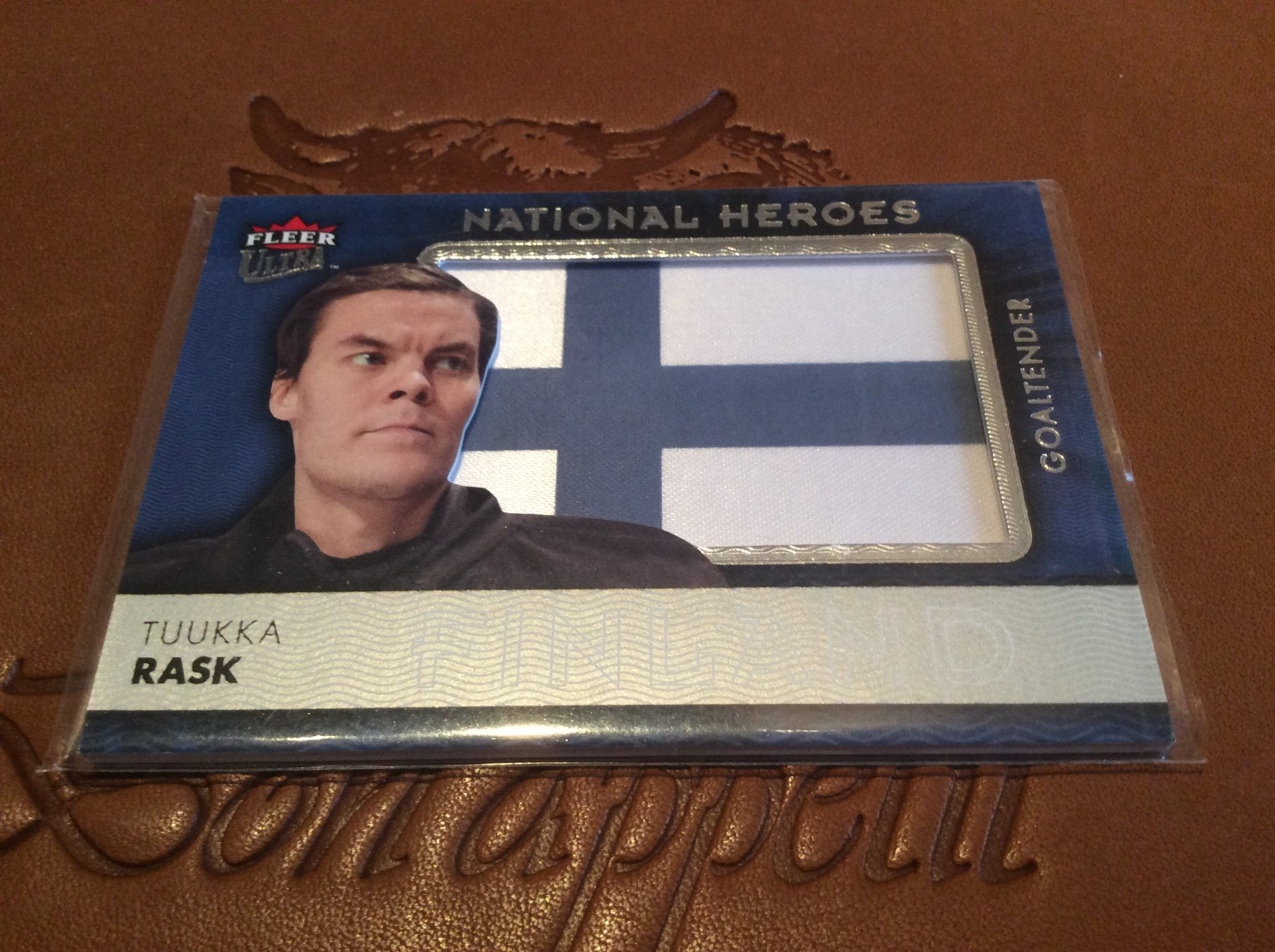Hockeykort Tuukka Rask National Heroes