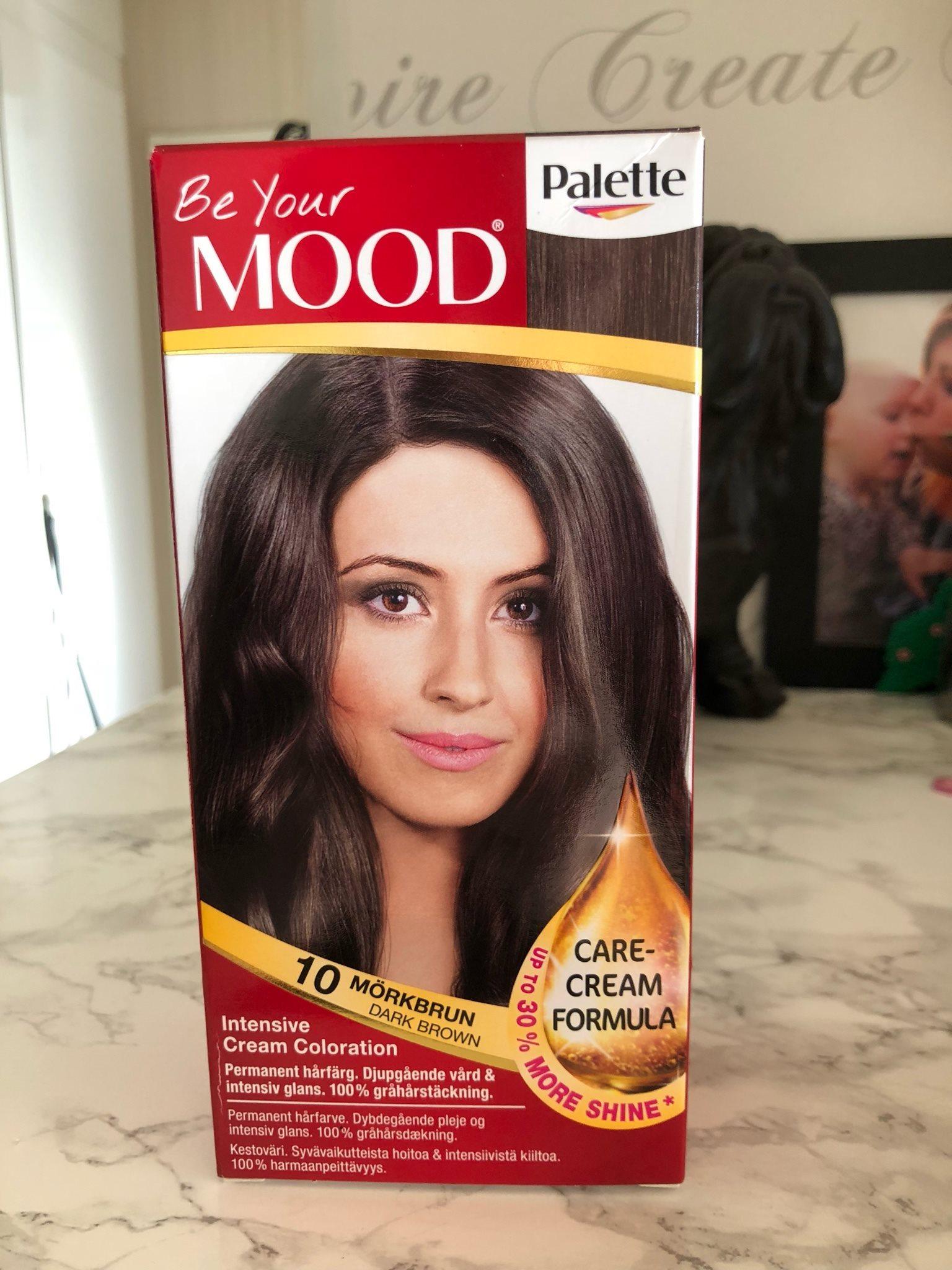 ljusbrun hårfärg mood