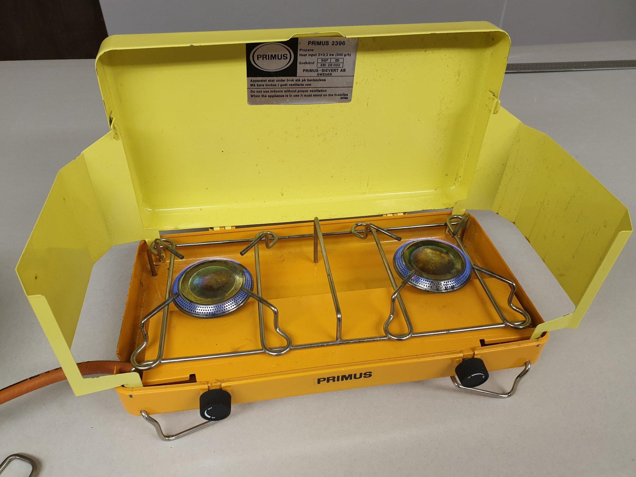 Primus 2396 gasolkök campingkök (346088059) ᐈ Köp på Tradera