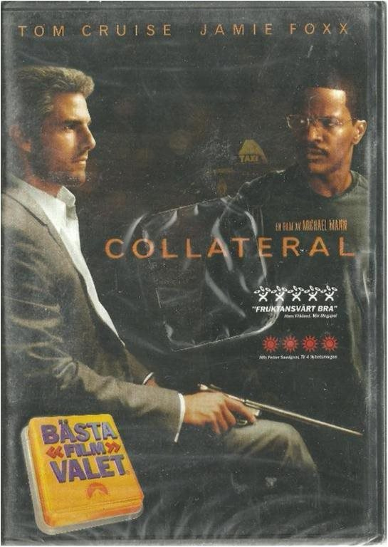 COLLATERAL - TOM CRUISE ( INPLASTAT -SVENSKT )