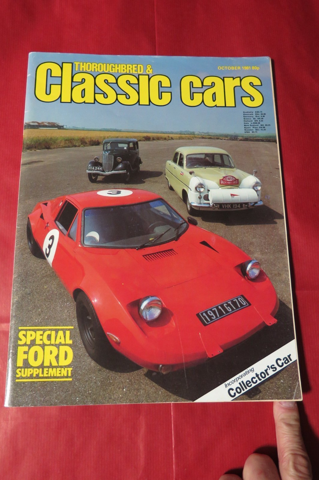 CLASSIC CARS,THOROUGHBRED & CLASSIC CARS,CAR MAGAZINE,FORD,RACING,FORD GT,