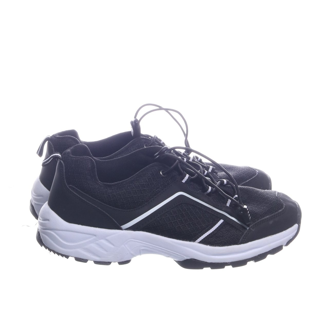 separation shoes 2eb5b ce80b Löparskor, Strl  41, Svart Vit (348336382) ᐈ Sellpy på Tradera