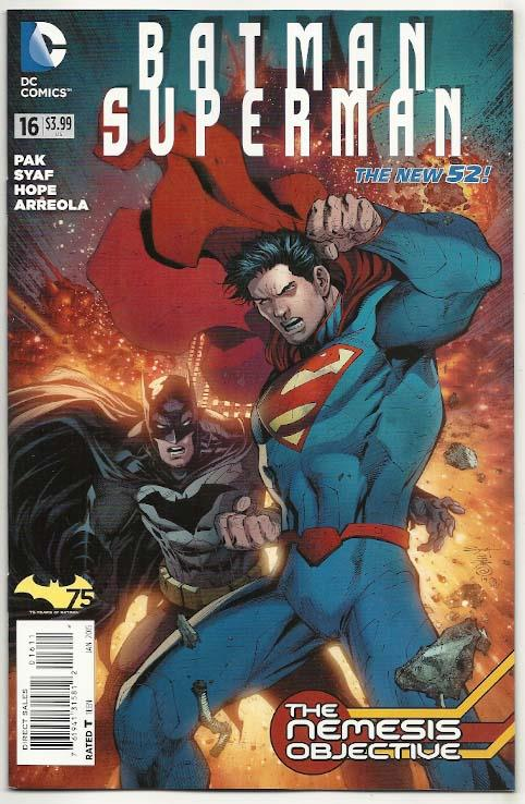 Batman/Superman # 16 NM Ny Import