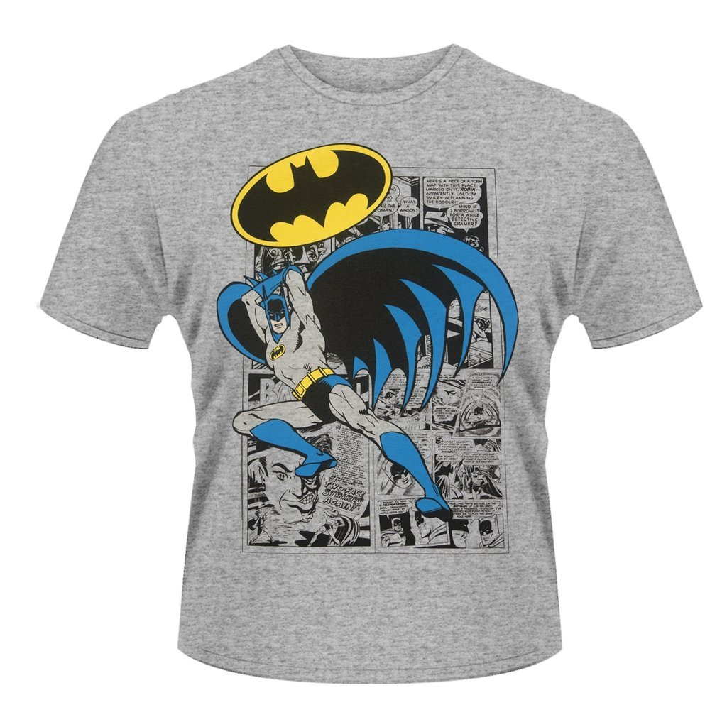 BATMAN LOGO POSE T-Shirt - Medium
