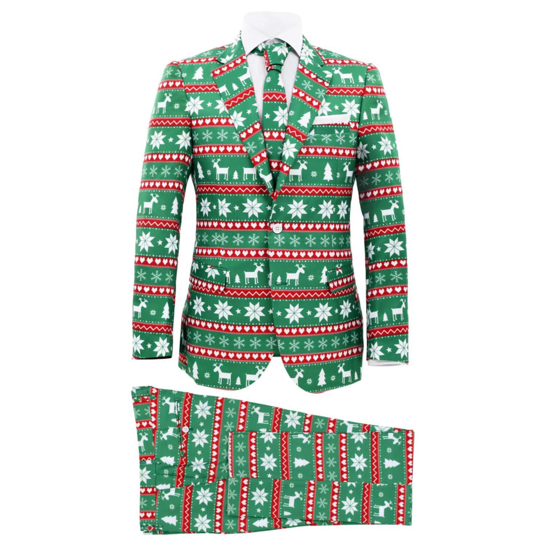 vidaXL Tvådelad julkostym med slips herr .. (332333042) ᐈ vidaXL på ... 6a7414d6d0720