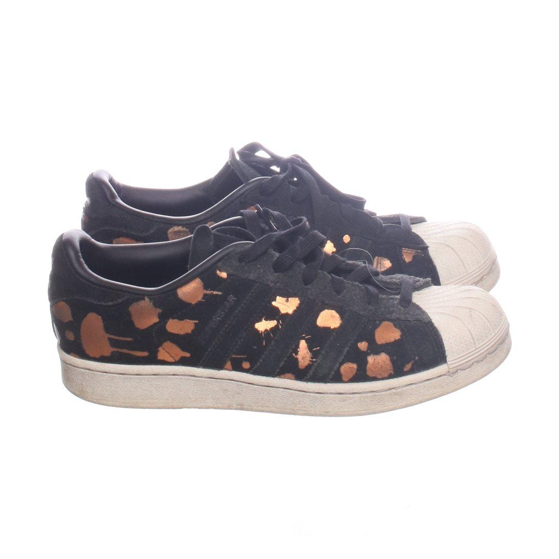 best sneakers d6c95 98810 Adidas, Sneakers, Strl  38,5, Superstar, Svart Brun