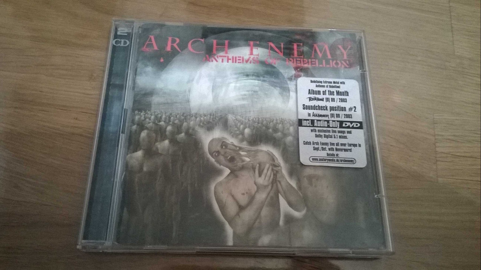 Arch Enemy - Anthems Of Rebellion, 2XCD