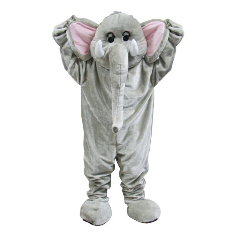 Elefantmaskot Deluxe Maskeraddräkt -.. (323086189) ᐈ Hobbyprylar på ... 03b3ed2f07240