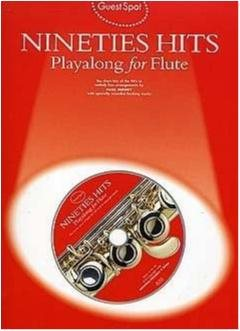 Nineties Hit Playalong for flute - CD