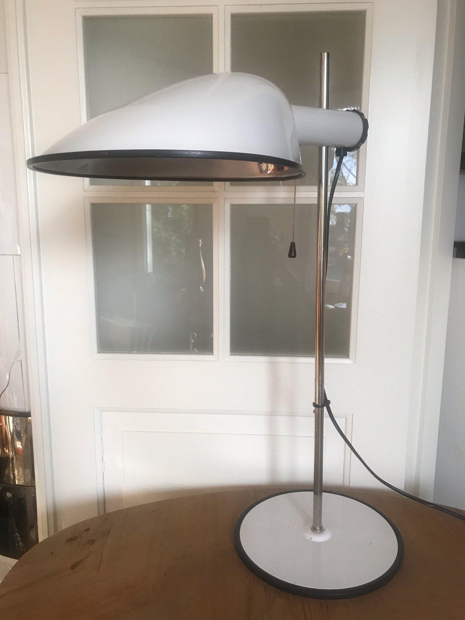Bordslampa Lampa Skrivbordslampa Fagerhult Fagerhults 60 70 tal Sweden Vintage