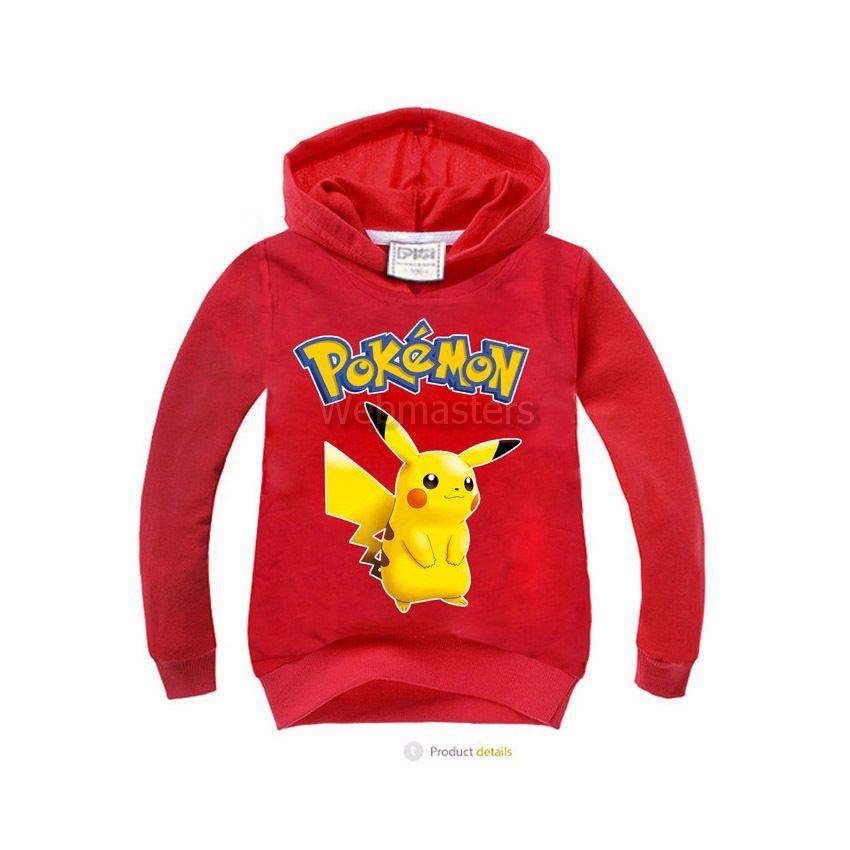 Pokemon Go Pikachu Hoodie Huvtröja Tr.. (277702886) ᐈ