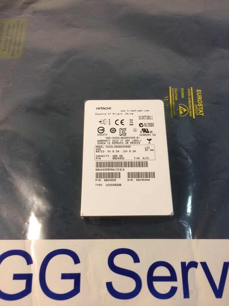Hitachi 200GB SSD SAS SFF HUSSL4020ASS600