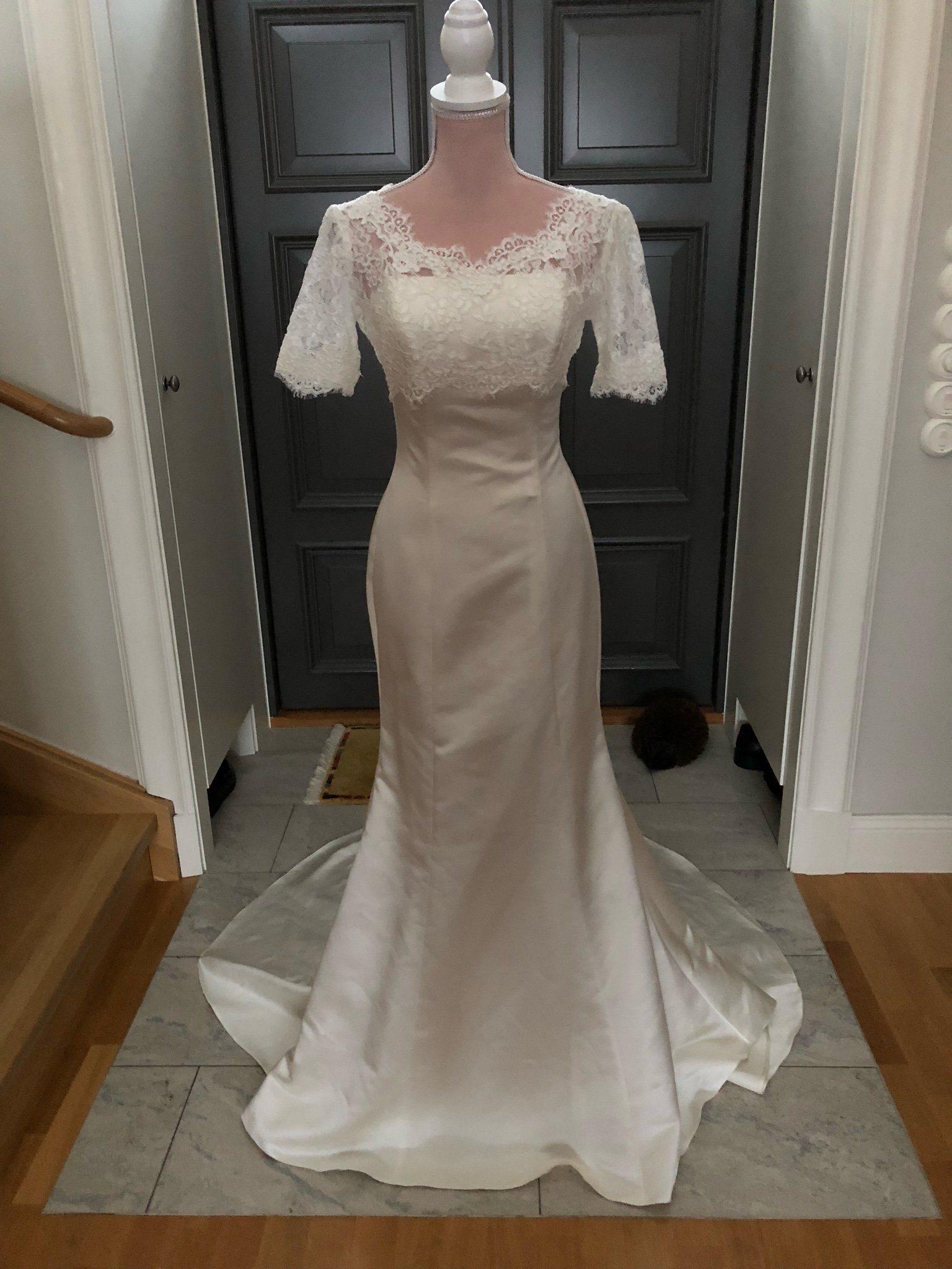 b89b1e723f9c Garamaj ny brudklänning med avtagbar spetstopp! (341099007) ᐈ Köp ...