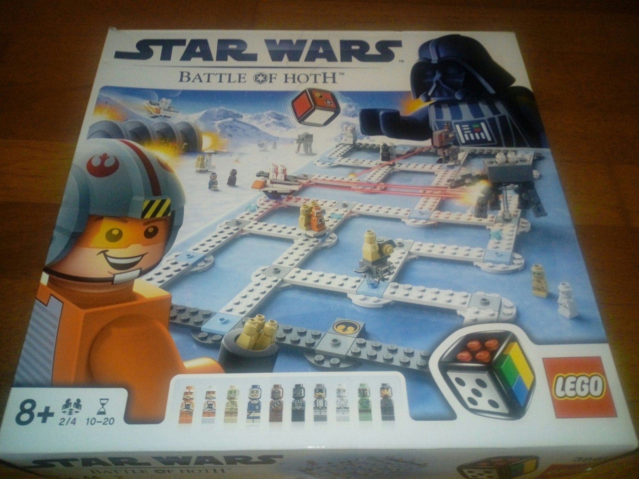 Star Wars Battle of Hoth Lego Sällskapsspel