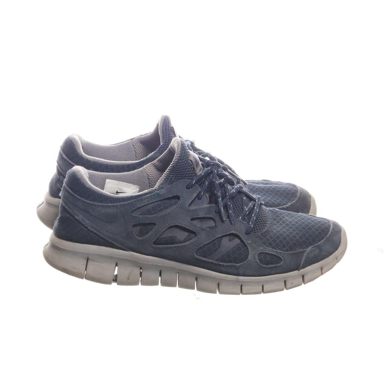 sports shoes ad0d9 956b2 Nike, Sneakers, Strl  44, Free Run 2, Blå