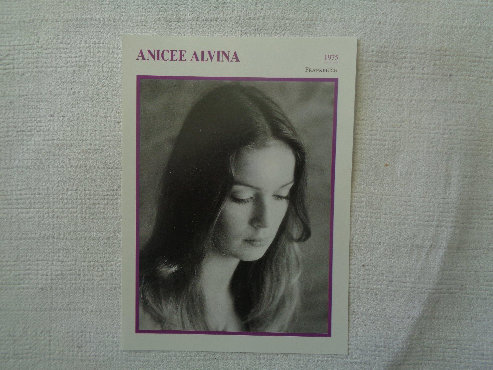 Anicée Alvina anicee alvina- 1953 - 2006 (354261934) ᐈ köp på tradera