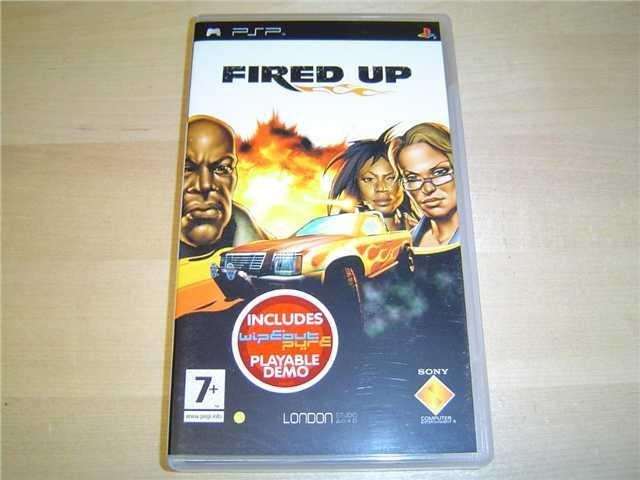 FIRED UP SONY PSP *NYTT*