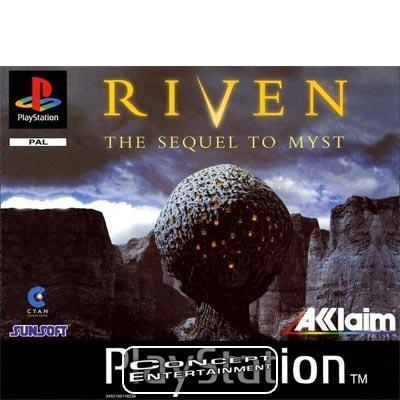 RIVEN - THE SEQUEL TO MYST (komplett) till Sony Playstation, PS1