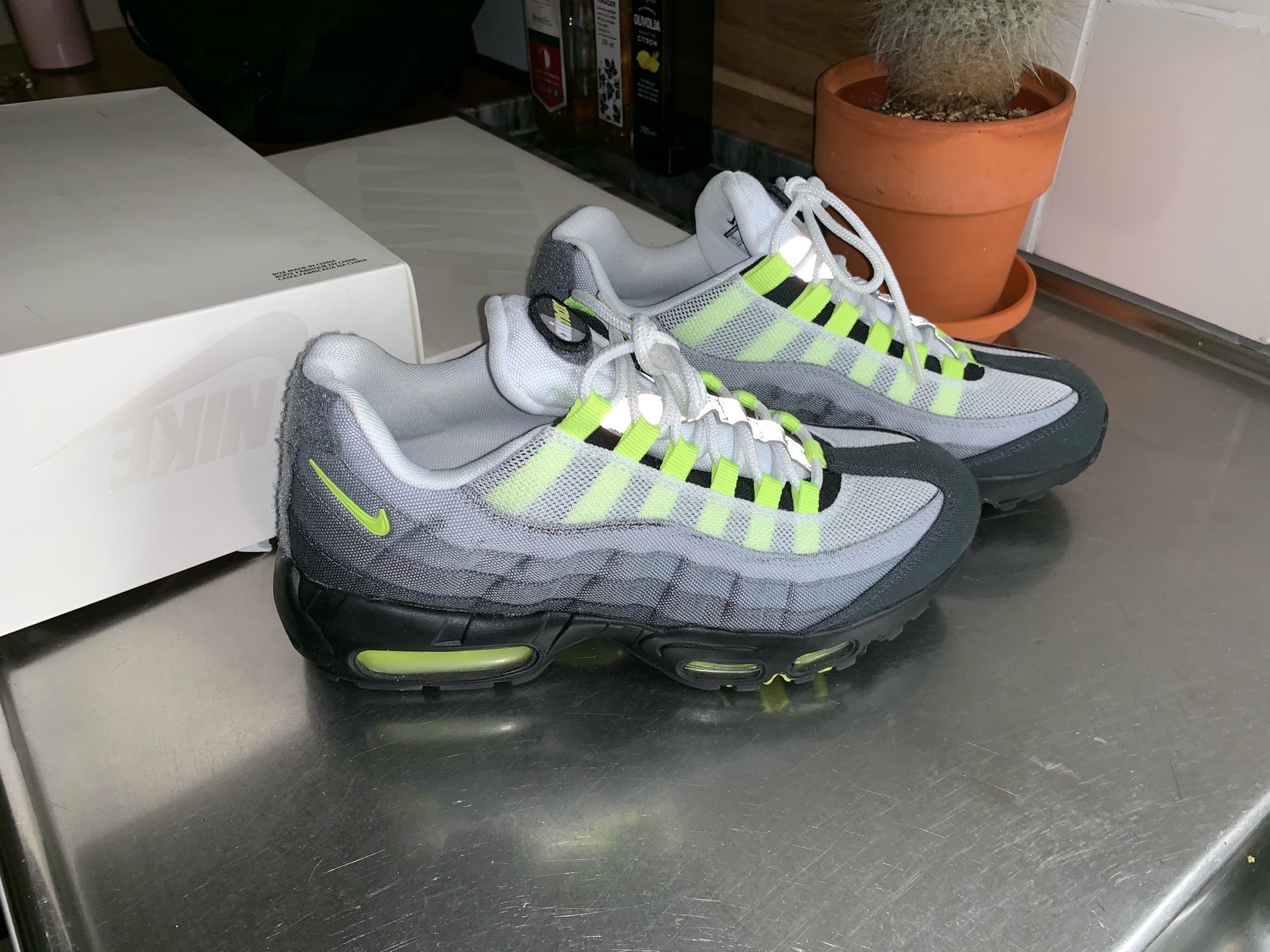 Nike air max 95 neon patch 40 (passar 39)