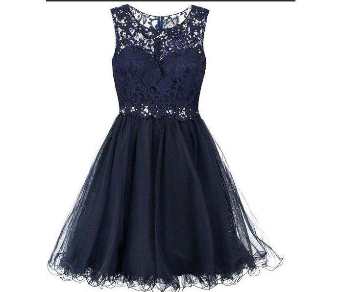 24d87179e0e klänning festklänning svart med små paljetter strl small Laona  cocktailklänning
