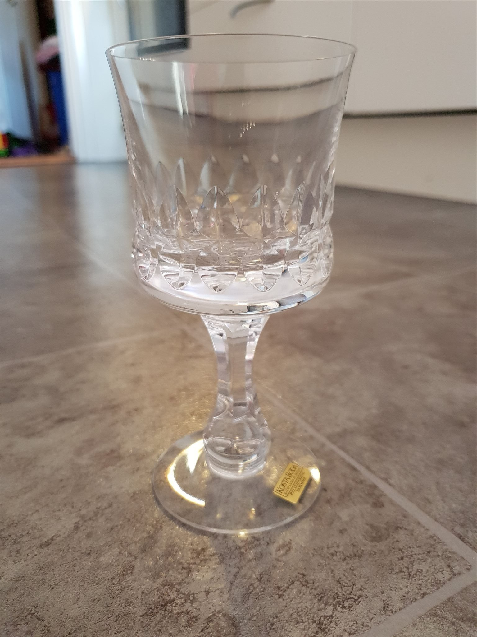 Svært Kosta Boda vinglas (346283269) ᐈ Köp på Tradera CG-76