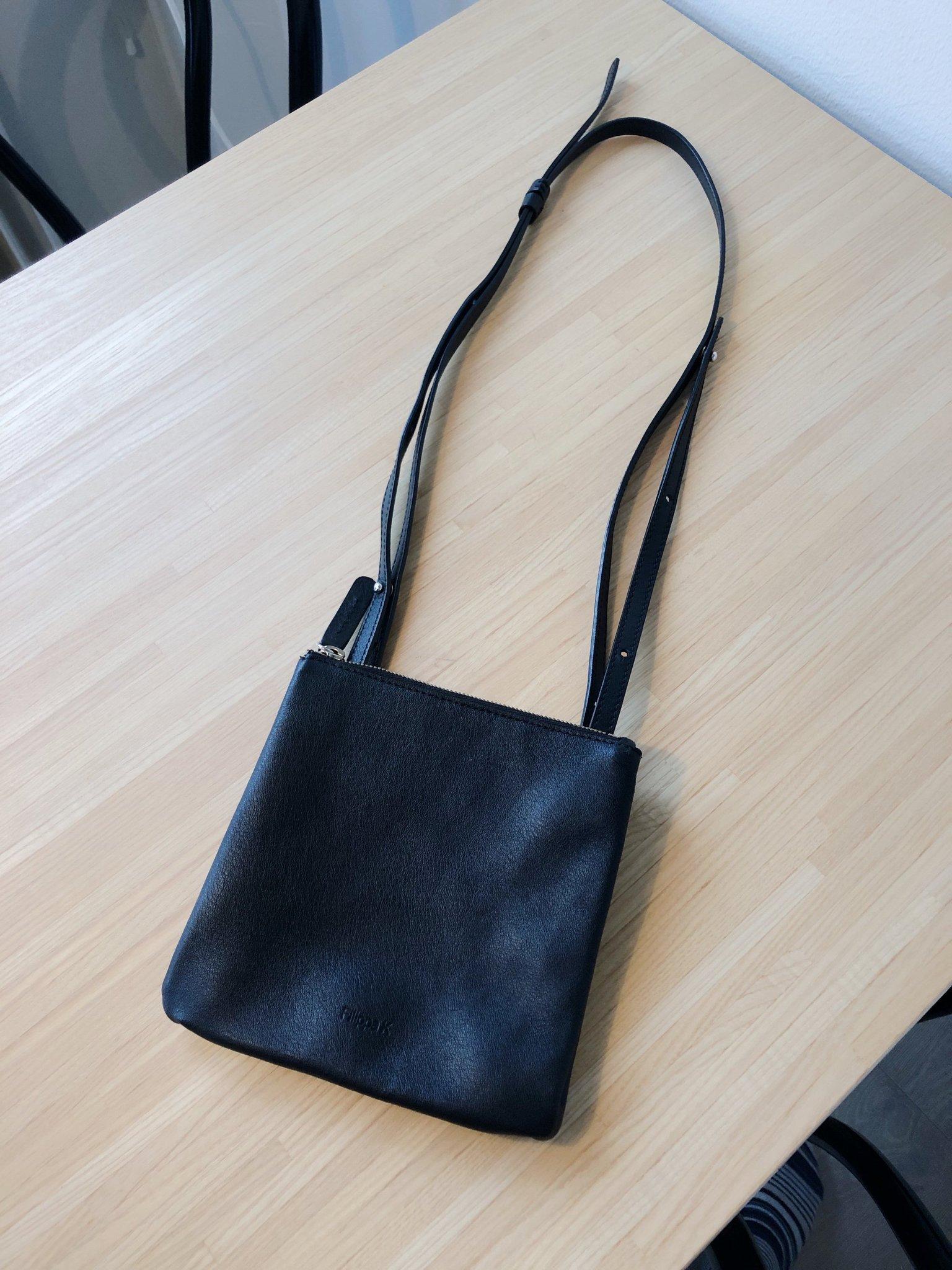 Ny Filippa K väska i skinn