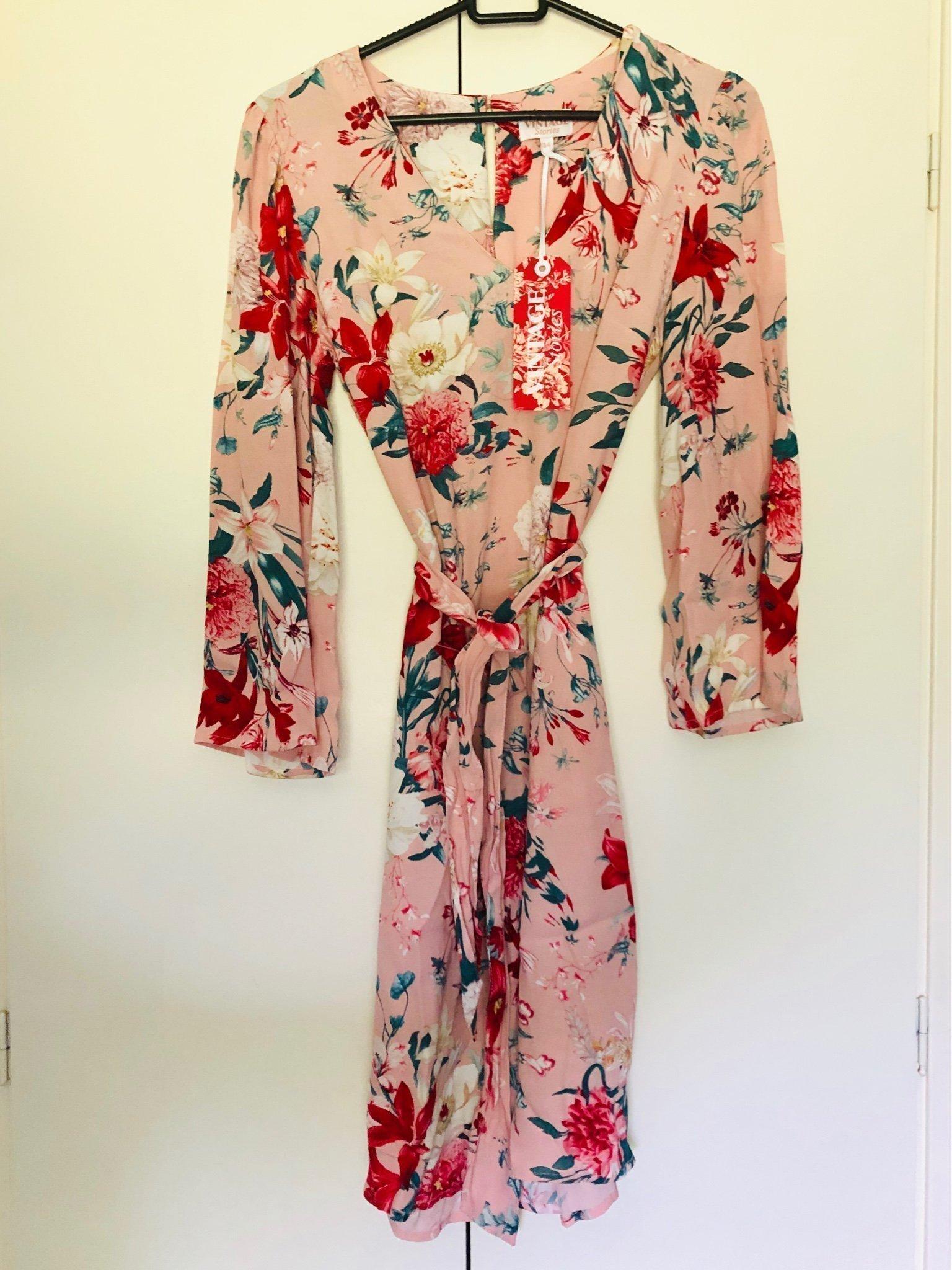 Ny klänning vintage kappahl