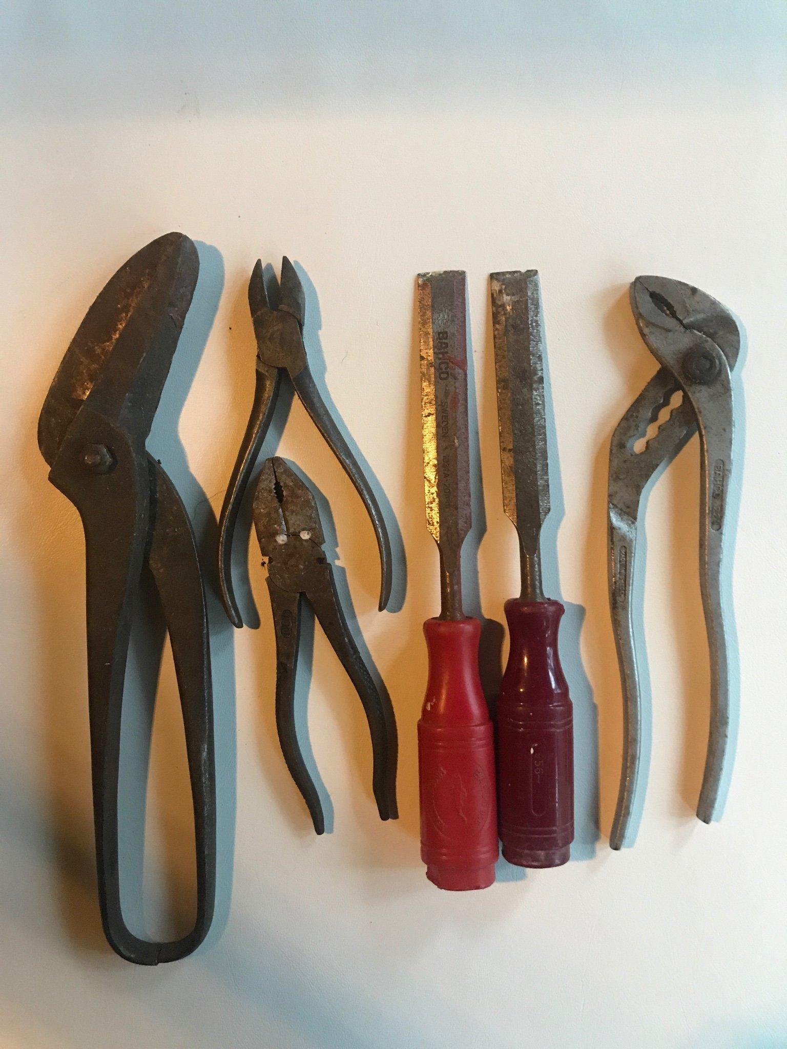 Vintage Eskilstuna Smycken verktyg