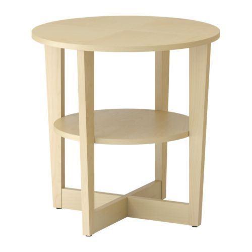 Soffbord soffbord ikea : Ikea soffbord Vejmon Ekfaner 60 cm Som nytt! på Tradera.com -