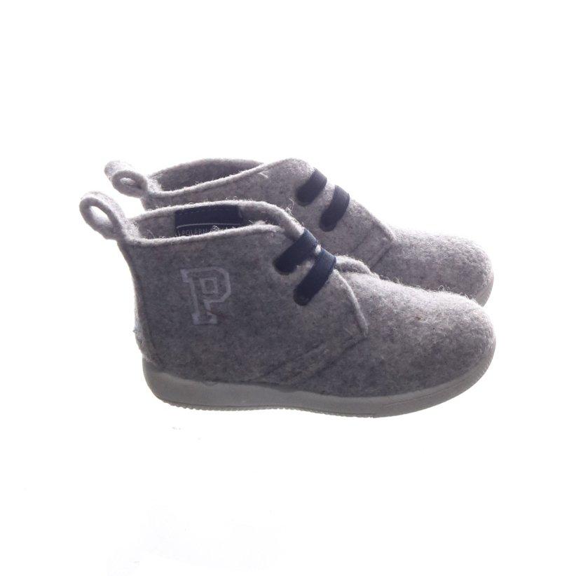 Polarn O. Pyret, Sneakers, Strl: 22, Grå
