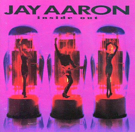 Jay Aaron -Inside out CD Melodic AOR Warner Brothers 1990