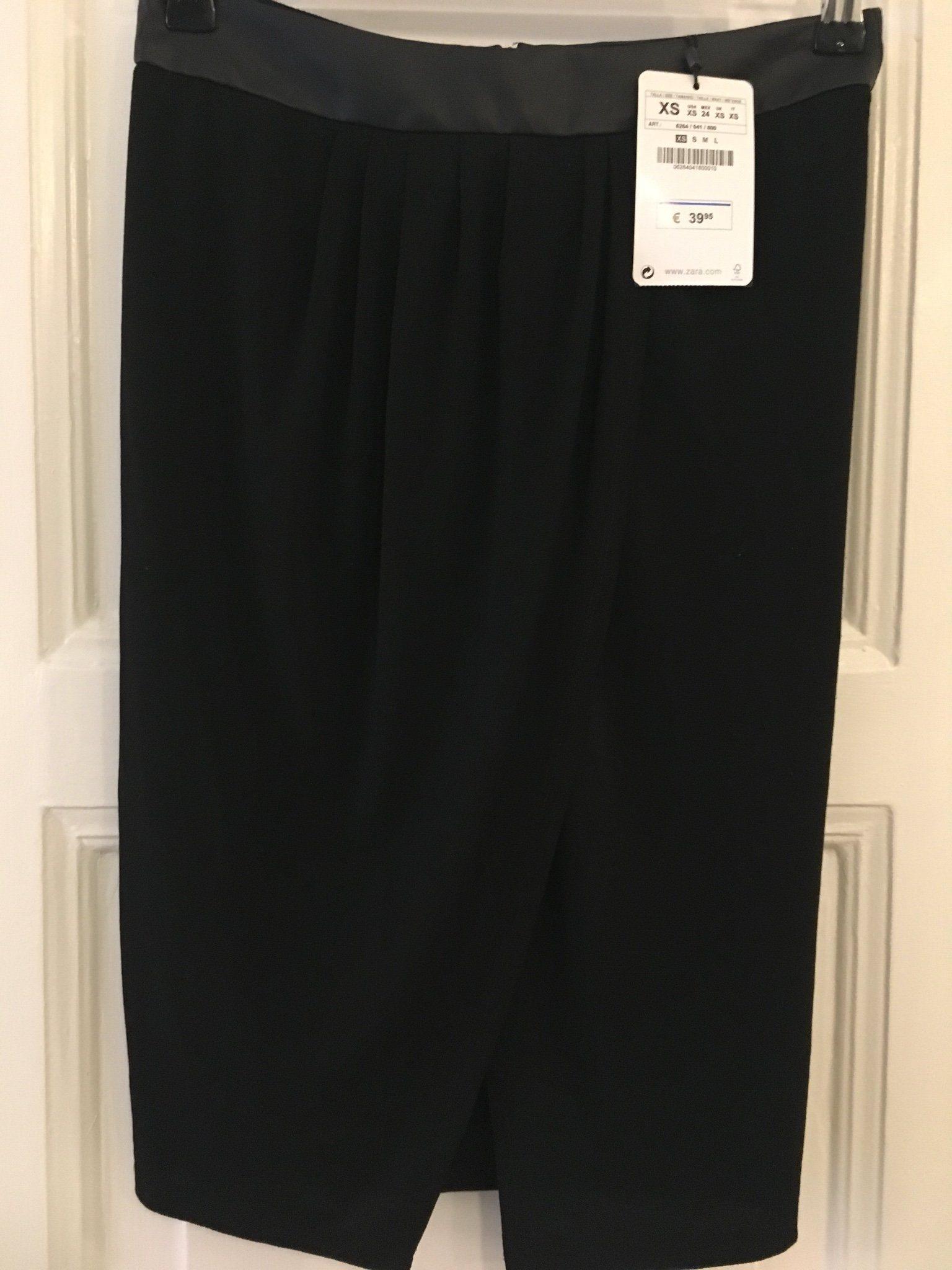 Trend Ny MQ plisserad kjol läder imitation