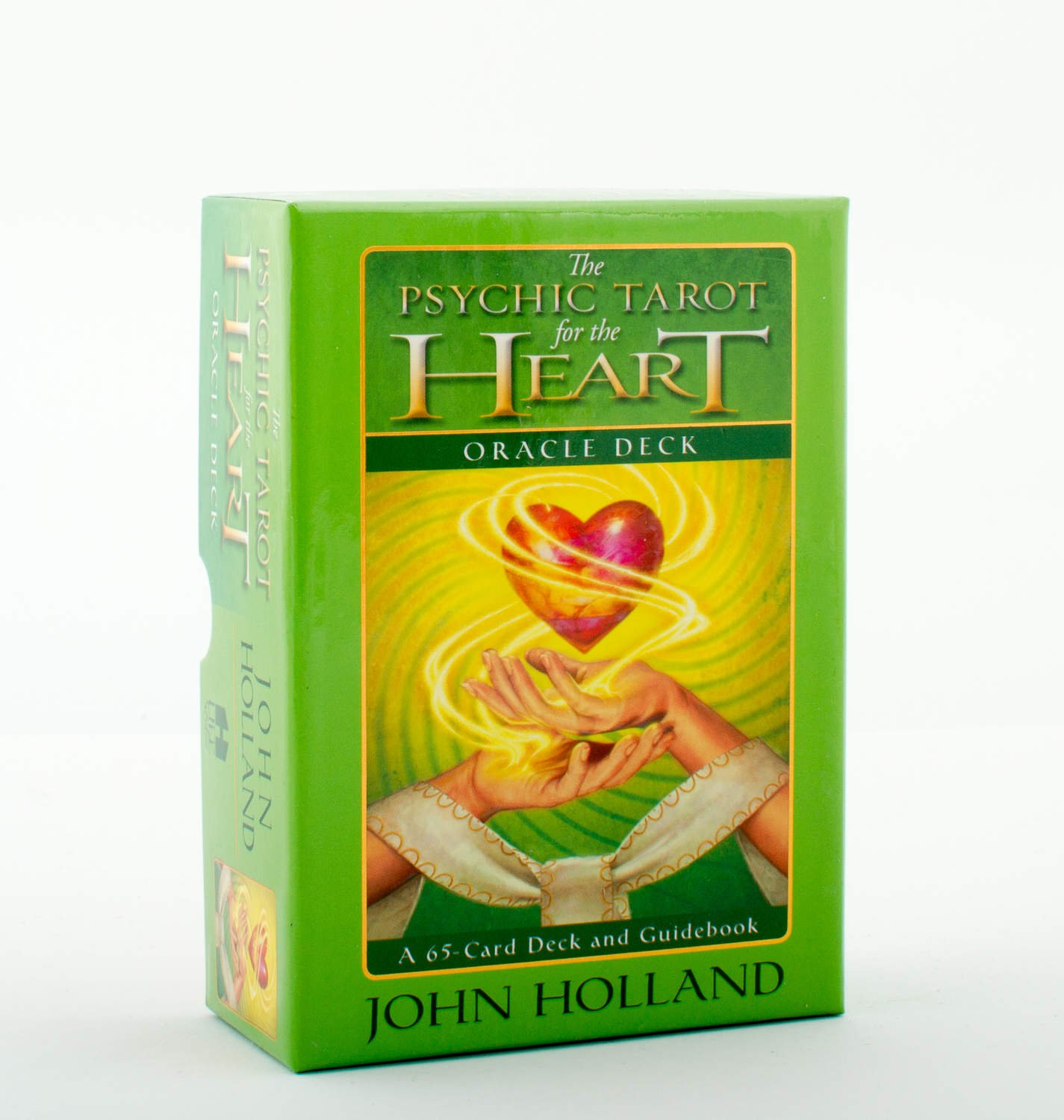 Psychic tarot for the heart oracle deck 9781401940256